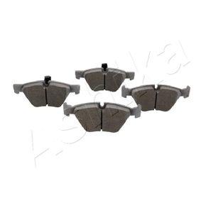Brake Pad Set, disc brake 50-00-0048 3 Saloon (E90) 320d 2.0 MY 2007