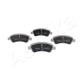 Brake Pad Set, disc brake Width: 50,8mm, Thickness: 19mm with OEM Number E 172 124