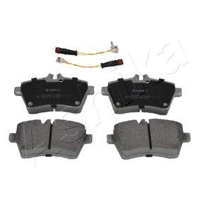Bremsbelagsatz, Scheibenbremse Breite: 63,8mm, Dicke/Stärke: 19,1mm mit OEM-Nummer 169 420 1020