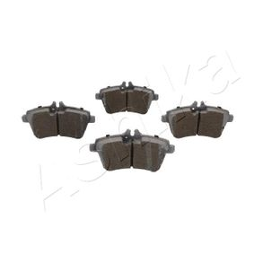 Brake Pad Set, disc brake Width: 69,9mm, Thickness: 19,6mm with OEM Number A16 942 00 120