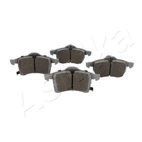Bremsbelagsatz, Scheibenbremse Breite: 79,5mm, 72mm, Dicke/Stärke: 19,5mm mit OEM-Nummer 1605996