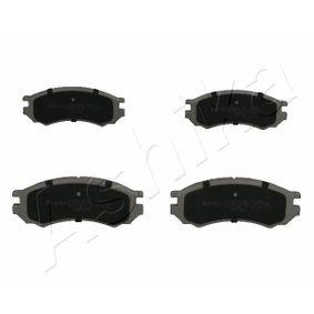 Bremsbelagsatz, Scheibenbremse Höhe: 50,3mm, Dicke/Stärke: 15,5mm mit OEM-Nummer D1060 0N685