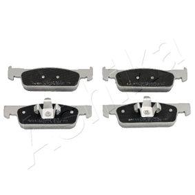 Bremsbelagsatz, Scheibenbremse Höhe: 40mm, Dicke/Stärke: 18mm mit OEM-Nummer 4106 055 36R