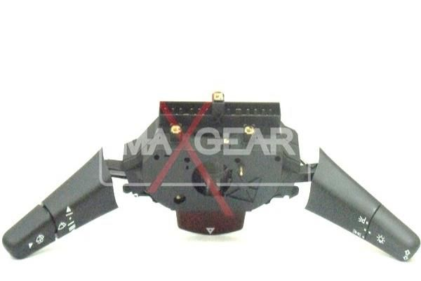 MAXGEAR  50-0075 Steering Column Switch Number of connectors: 22, with indicator function, with light dimmer function, with wipe interval function, with wipe-wash function