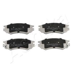 Bremsbelagsatz, Scheibenbremse Höhe: 51,4mm, Dicke/Stärke: 14,7mm mit OEM-Nummer D1060 0N685