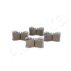 Bremsbelagsatz, Scheibenbremse Höhe: 88mm, Dicke/Stärke: 18,5mm mit OEM-Nummer 044650W110