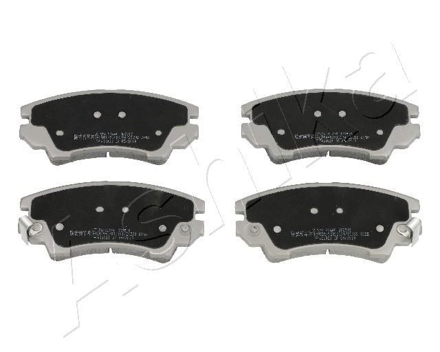 ASHIKA  50-0W-W16 Brake Pad Set, disc brake Height: 66mm, Thickness: 18mm