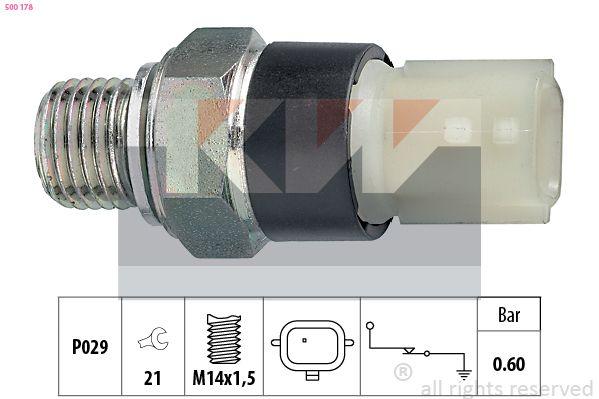 KW  500 178 Διακόπτης πίεσης λαδιού