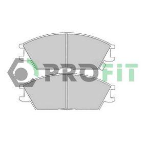 Bremsbelagsatz, Scheibenbremse Höhe: 50mm, Dicke/Stärke: 14,8mm mit OEM-Nummer 58101 24B00