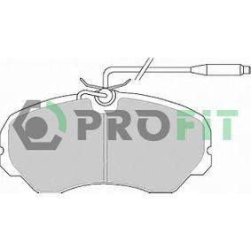 Bremsbelagsatz, Scheibenbremse Höhe: 70mm, Dicke/Stärke: 19,3mm mit OEM-Nummer 425105