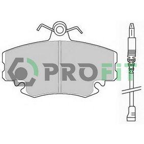 Bremsbelagsatz, Scheibenbremse Höhe: 65mm, Dicke/Stärke: 18mm mit OEM-Nummer 7701 204 833