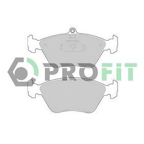 Bremsbelagsatz, Scheibenbremse Höhe 1: 60,9mm, Höhe 2: 71mm, Dicke/Stärke: 17,5mm mit OEM-Nummer 90 44 3873