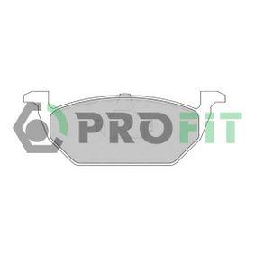 Bremsbelagsatz, Scheibenbremse Höhe: 54,7mm, Dicke/Stärke: 19,7mm mit OEM-Nummer 6Q0 698 151.