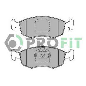 Bremsbelagsatz, Scheibenbremse Breite: 151,5mm, Höhe: 55,5mm, Dicke/Stärke: 18,5mm mit OEM-Nummer 7 173 815 2