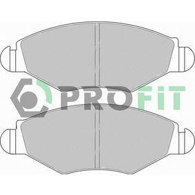 Bremsbelagsatz, Scheibenbremse Höhe: 47,5mm, Dicke/Stärke: 18mm mit OEM-Nummer 4253 05