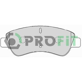 Brake Pad Set, disc brake Height: 50,8mm, Thickness: 19mm with OEM Number 425341