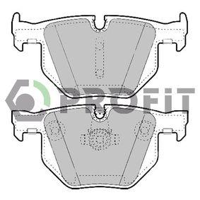 Brake Pad Set, disc brake Rear Axle 5000-1748