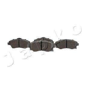 Bremsbelagsatz, Scheibenbremse Breite: 51,4mm, Dicke/Stärke: 17mm mit OEM-Nummer 1605 092