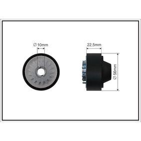 Spannrolle, Keilrippenriemen Breite: 22,5mm mit OEM-Nummer 8200 040 155