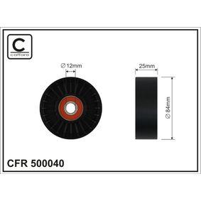 Τροχαλία παρέκκλισης, ιμάντας poly-V 500040 MICRA 2 (K11) 1.3 i 16V Έτος 2000