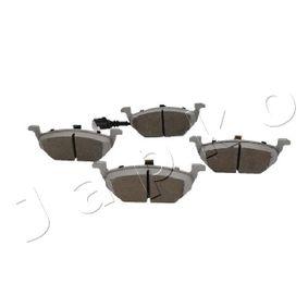 Bremsbelagsatz, Scheibenbremse Breite: 54,7mm, Dicke/Stärke: 19,7mm mit OEM-Nummer 1J0 698 151 G.