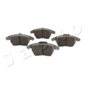 Bremsbelagsatz, Scheibenbremse Breite: 66, 71,4mm, Dicke/Stärke: 20,3mm mit OEM-Nummer 8J0-698-151-C