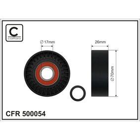 Spannrolle, Keilrippenriemen Breite: 26mm mit OEM-Nummer 68021 256AA