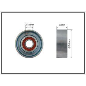 Polea tensora, correa poli V 500097 CIVIC 8 Hatchback (FN, FK) 1.4 (FK1, FN4) ac 2021