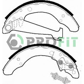 Bremsbackensatz Trommel-Ø: 200, Breite: 40mm, Dicke/Stärke: 5mm mit OEM-Nummer 1H0698071