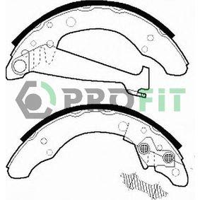 Bremsbackensatz Trommel-Ø: 200, Breite: 40mm, Dicke/Stärke: 5mm mit OEM-Nummer 1H0609525