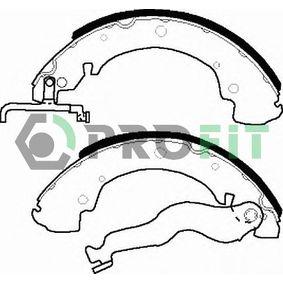Bremsbackensatz Trommel-Ø: 270, Breite: 55mm, Dicke/Stärke: 5,5mm mit OEM-Nummer 701609531D