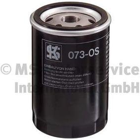 Ölfilter Außendurchmesser 2: 72mm, Innendurchmesser 2: 62mm, Höhe: 123mm mit OEM-Nummer 5004928