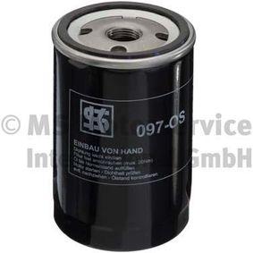 Ölfilter Außendurchmesser 2: 72mm, Innendurchmesser 2: 62mm, Höhe: 123mm mit OEM-Nummer 070115561