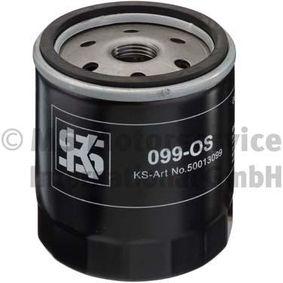 KOLBENSCHMIDT  50013099 Filtre à huile Diamètre extérieur 2: 72mm, Diamètre intérieur 2: 62mm, Hauteur: 91mm
