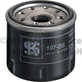 Ölfilter Außendurchmesser 2: 65mm, Innendurchmesser 2: 55mm, Höhe: 75mm mit OEM-Nummer 15208-KA011