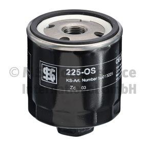 Ölfilter Außendurchmesser 2: 72mm, Innendurchmesser 2: 62mm, Höhe: 79mm, Höhe 1: 92mm mit OEM-Nummer 030 115 561 AB