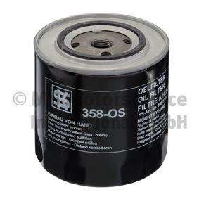 Ölfilter Außendurchmesser 2: 72mm, Innendurchmesser 2: 62mm, Höhe: 113mm mit OEM-Nummer 7701 349 151