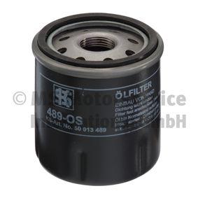 Ölfilter Außendurchmesser 2: 63mm, Innendurchmesser 2: 55mm, Höhe: 76mm mit OEM-Nummer 7 700 863 124