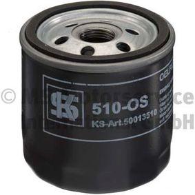 Ölfilter Außendurchmesser 2: 72mm, Innendurchmesser 2: 62mm, Höhe: 79mm mit OEM-Nummer 834337