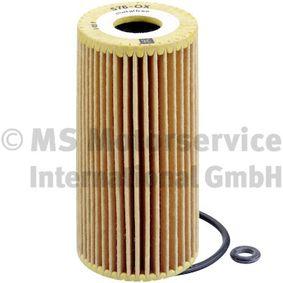 Ölfilter Innendurchmesser 2: 21mm, Höhe: 116mm mit OEM-Nummer A6401800009