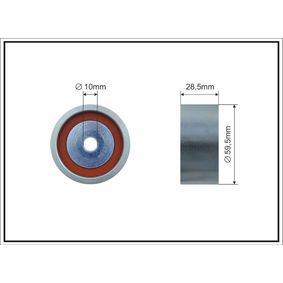 Spannrolle, Zahnriemen Ø: 59,5mm mit OEM-Nummer 1145A079