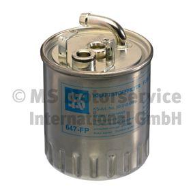 Kraftstofffilter Höhe: 128mm mit OEM-Nummer A611 090 08 52