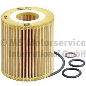 Ölfilter Innendurchmesser 2: 31,5mm, Höhe: 79mm mit OEM-Nummer 11 42 7 501 676