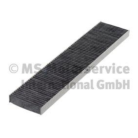 Filter, Innenraumluft Länge: 540mm, Breite: 110mm, Höhe: 26mm mit OEM-Nummer 95VW19N551AA