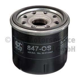 Ölfilter Innendurchmesser 2: 56mm, Höhe: 66mm mit OEM-Nummer 15601 87204
