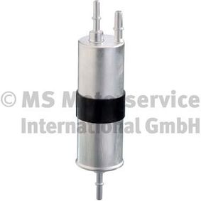 Fuel filter Height: 250mm with OEM Number 16 12 7 451 424