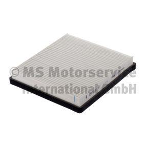 Filter, Innenraumluft Länge: 227mm, Breite: 205mm, Höhe: 40mm mit OEM-Nummer A 163 835 02 47