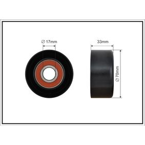 Tensioner Pulley, v-ribbed belt 500238 CIVIC 8 Hatchback (FN, FK) 2.2 CTDi (FK3) MY 2020