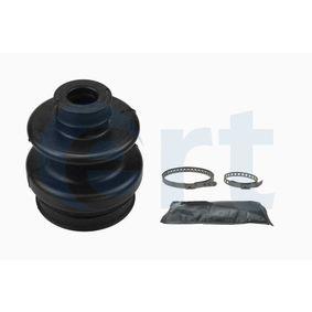 Faltenbalgsatz, Antriebswelle Höhe: 96mm, Innendurchmesser 2: 22mm, Innendurchmesser 2: 64mm mit OEM-Nummer 124 350 02 37