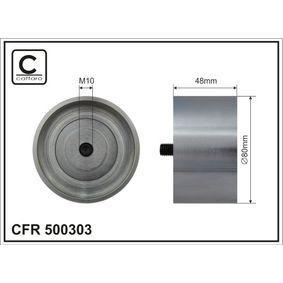 Umlenkrolle Keilrippenriemen Ø: 80mm mit OEM-Nummer 000 550 1733